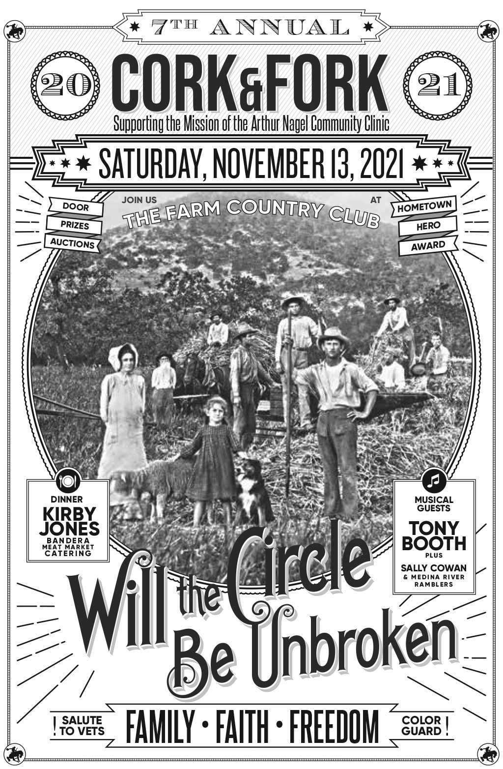 Cork & Fork Saturday November 13, 2021